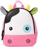 Детский рюкзак Sun Eight Корова / SE-sp035-07 (белый/розовый) -