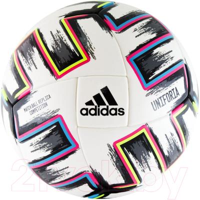 Футбольный мяч Adidas EURO2020 Uniforia Competition / FJ6733 футбольный мяч adidas conext 19 omb dn8633