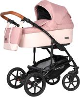 Детская универсальная коляска Riko Basic Bella Life 3 в 1 (03/Rose) -