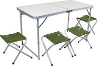 Комплект складной мебели Jungle Camp Event 120 / 70740 (зеленый) -