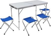 Комплект складной мебели Jungle Camp Event 120 / 70741 (голубой) -