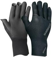 Перчатка для рыбалки Shimano GL-061S / 5YGL061S15 (JP-L, черный) -