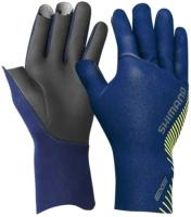Перчатка для рыбалки Shimano GL-061S / 5YGL061S25 (JP-L, синий) -