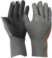 Перчатка для рыбалки Shimano GL-061S / 5YGL061S35 (JP-L, серый) -