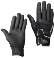 Перчатка для рыбалки Shimano GL-095Q / 5YGL095Q19 (JP-XL, черный) -