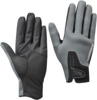 Перчатка для рыбалки Shimano GL-095Q / 5YGL095QE8 (JP-XL, серый) -