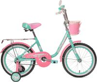 Детский велосипед Black Aqua Princess 20 / KG2002 (мятный/розовый) -