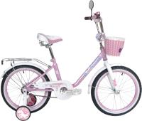 Детский велосипед Black Aqua Princess 20 / KG2002 (розовый/белый) -