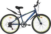 Велосипед Black Aqua City 1401 V 24 / GL-201V (темно-синий) -