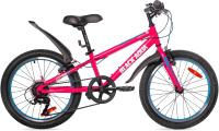 Детский велосипед Black Aqua City 1201 V 20 / GL-101V (розовый) -