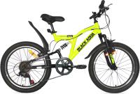 Детский велосипед Black Aqua Mount 1201 V 20 / GL-103V (лимонный/черный) -