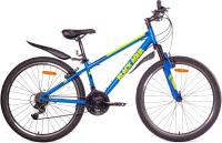 Велосипед Black Aqua Cross 1661 V 26 / GL-310V (синий/лимонный) -