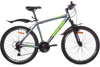 Велосипед Black Aqua Cross 2651 V 26 / GL-317V (серый/салатовый) -