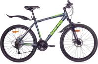 Велосипед Black Aqua Cross 2651 D 26 / GL-318D (серый/салатовый) -