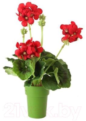 Искусственный цветок GrenTrade Герань Асти / 11597