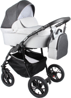 Детская универсальная коляска Alis Orion F 3 в 1 (Or 01, темно-серый/светло-серый) -