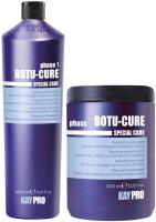 Набор косметики для волос Kaypro Special Care Botu-Cure для сильно поврежденных маска+шампунь  (1л+1л) -