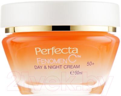 Крем для лица Perfecta Fenomen C день/ночь интенсивный мощный лифтинг и увлажнение 50+