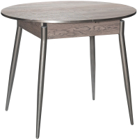Обеденный стол Древпром Сириус М61 (навара/опоры прямые металлик) -