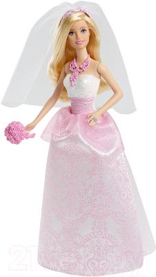 Кукла с аксессуарами Barbie Невеста / CFF37