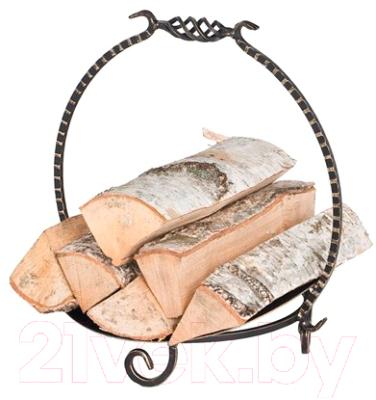 Дровница для камина Везувий Кованая D140B