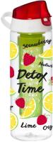 Бутылка для воды Herevin Strawberry-Detox Time / 161558-002 -