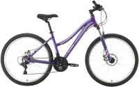 Велосипед STARK Luna 26.2 D 2021 (16, фиолетовый/серебристый) -