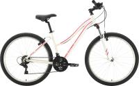 Велосипед STARK Luna 26.2 V 2021 (14.5, белый/розовый) -