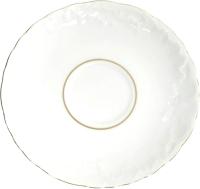 Блюдце Cmielow i Chodziez Rococo / 3604-0030590 (золотая линия) -