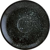 Блюдце Bonna Cosmos Black Gourmet / COSBLGRM02KT -