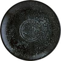 Блюдце Bonna Cosmos Black Gourmet / COSBLGRM04CT -