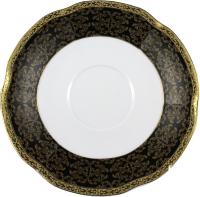 Блюдце Cmielow i Chodziez Bolero Carmen / G257-0730490 (черный) -