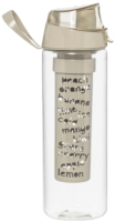 Бутылка для воды Herevin Tropic / 161557-570 (серый) -