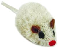 Игрушка для животных Beeztees Мышь плюшевая / 440443 -
