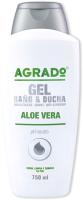 Гель для душа Agrado Bath & Shower Gel Aloe Vera (750мл) -
