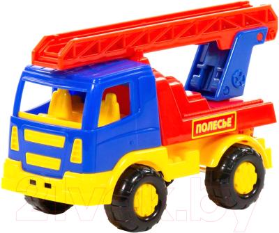 Автомобиль игрушечный Полесье Тема. Пожарная спецмашина / 68378