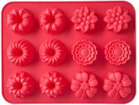 Форма для выпечки Walmer Cupcakes / W27312430 (красный) -
