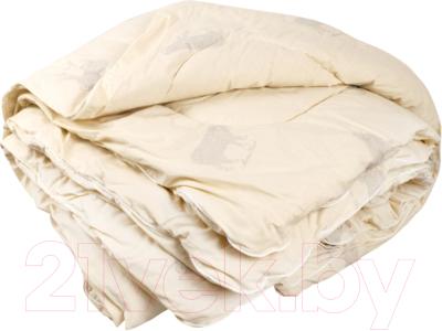 Одеяло Смиловичские одеяла Облегченное Стеганое шерстяное / 17.206 С