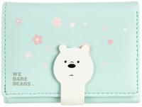 Кошелек детский Miniso We Bare Bears Белый медведь 3362 -