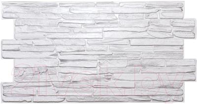 Панель ПВХ листовая, 5 шт. Grace Кварцит серый