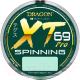 Леска монофильная Dragon XT 69 Hi-Tech Pro Spinning 0.25мм 125м / 33-32-025 -