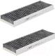 Комплект салонных фильтров Hengst E1944LC-2 (угольный, 2шт) -