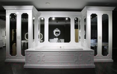 Зеркало Belux Кастилия К250-02 (1, белый)