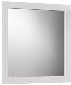 Зеркало Belux Рояль В80 (1, белый глянец)