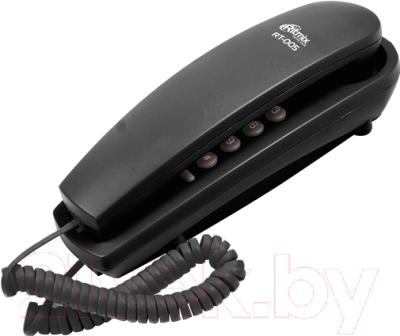 Проводной телефон Ritmix RT-005 (черный)