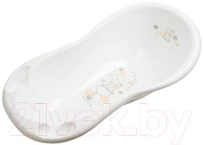 Ванночка детская Maltex Зебра / 6708 (белый)