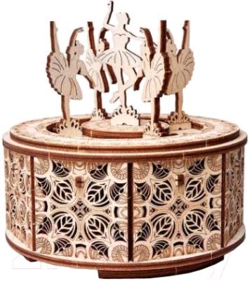Музыкальная шкатулка Wood Trick Танцующие балерины / 1234-S8