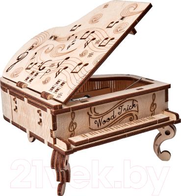 Музыкальная шкатулка Wood Trick Рояль / 1234-S9