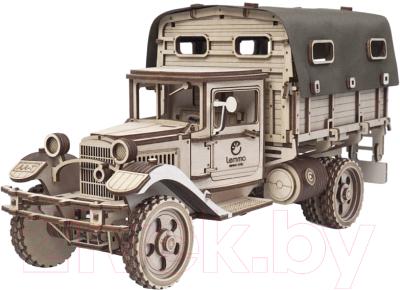 Автомобиль игрушечный Lemmo Грузовик Полуторка Тент / 01-10