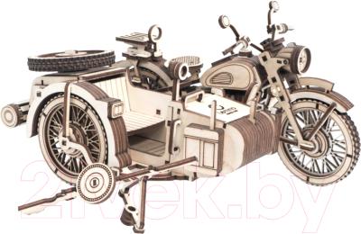 Мотоцикл игрушечный Lemmo Мотоцикл с коляской УРАН / 01-59